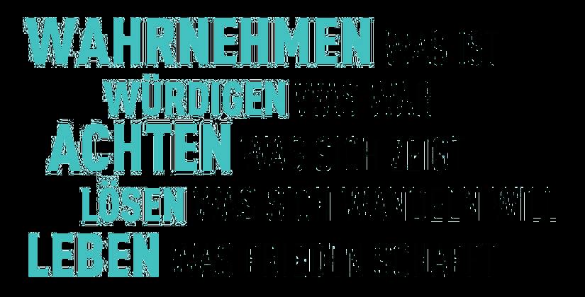 Text Gedicht Grossformat mit transparentem Hintergrund